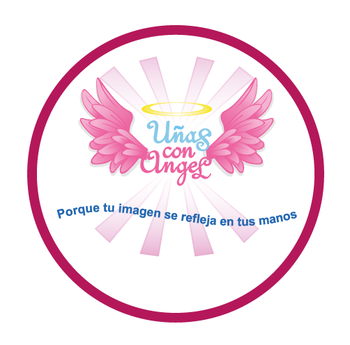 uñas con angel